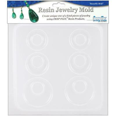 "Yaley - Resin Jewelry Mould 6.5""X7"" - Earrings (3 Pairs) Made in USA"