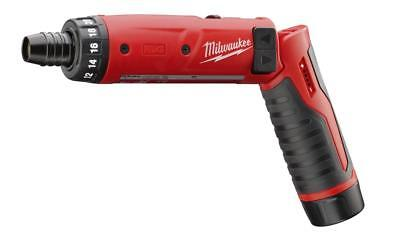 "Milwaukee 2101-21 M4 4V Cordless 1/4"" Hex Screwdriver Kit with 1 Battery"