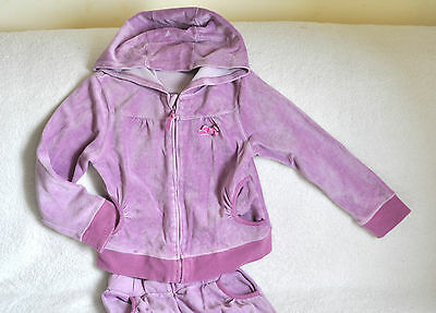 Velour Tracksuit by Vertbaudet Cardigan/jacket and trousers set Size 7-8 years