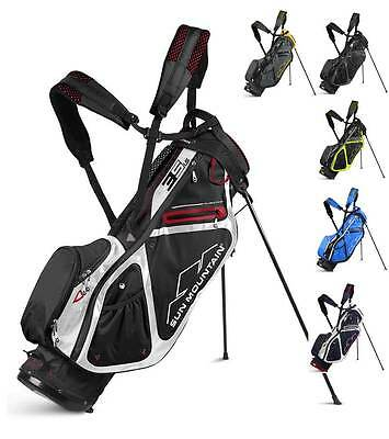 Sun Mountain 2017 Mens Three 5 LS Stand Carry Golf Bag