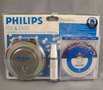 Philips Complete DVD/CD Cleaning System Discontinued by Manufacturer