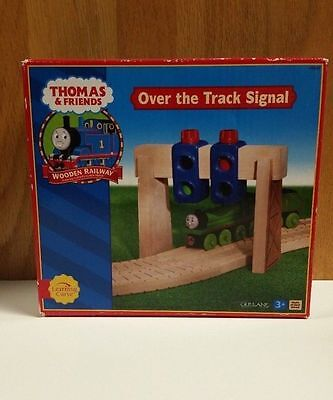 Thomas & Friends Gullane Wooden Railway Over The Track Signal Toy - 107