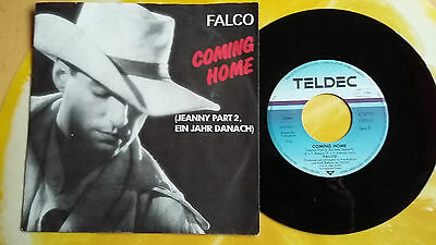 """Falco - Coming Home (Jeanny Part2)/crime Time - 7""""single - D 1986"""