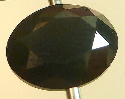 AAA CA 4,44 CT 10,00x8,00 MM OVAL CZ / BLACK