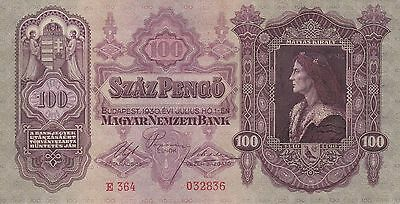 Banknote From Hungary In Ef Condition