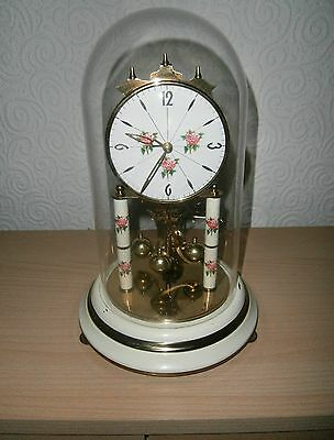 Large ANNIVERSARY CLOCK (Glass Dome)