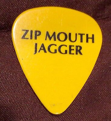 The Rolling Stones-Mick Jagger Guitar pick