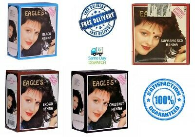 Eagles Henna Color Hair Dye Henna hair - 6 pcs. 10 g.each Eagle's Export Quality