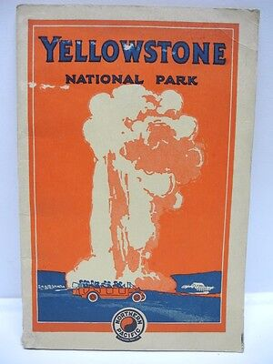 1920's Northern Pacific Yellowstone National Park Brochure