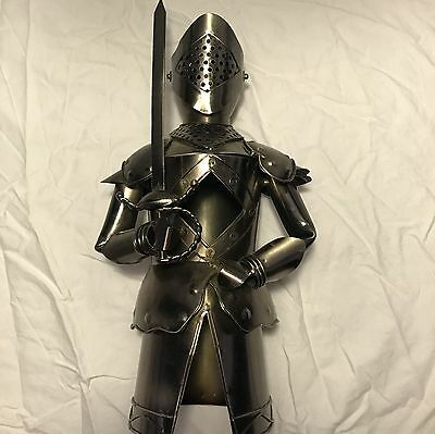 Brushed Chrome Metal Knight