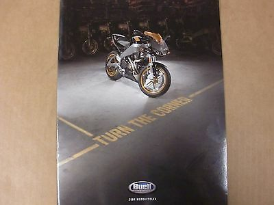 Harley-Davidson Buell 2004 Motorcycle Promotional Catalog 99380-04Vb