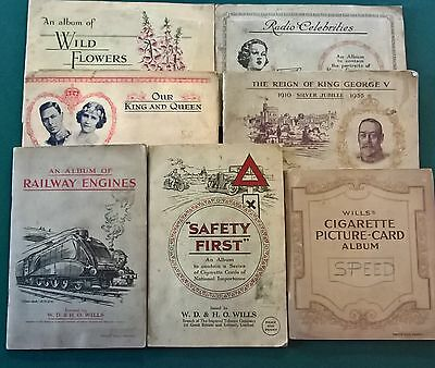 Wills Cigarette Albums And Cards