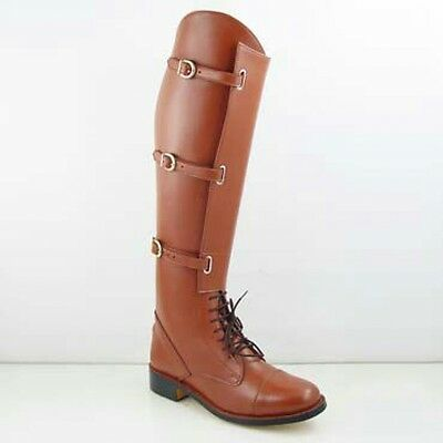 Horse riding boots genuine leather