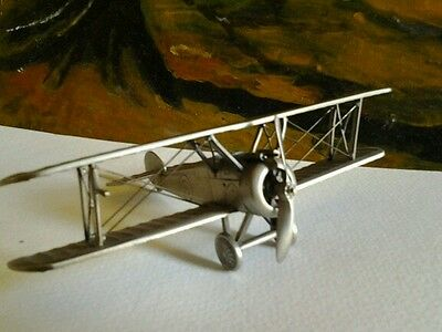 Sopwith camel scale 1.52, the danbury mint airplane.  Pewter, toy
