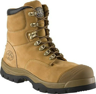 Oliver AT 55's 150mm Lace Up Safety Boots in Black, Claret, Wheat