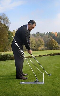 Swingcheck - Portable Golf Training Aid To Help Swing Correctly On-Plane