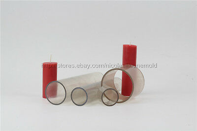 Classic Pillar Plastic PVC Candle Mold Soap Molds DIY Tools Craft Clay Chocolate