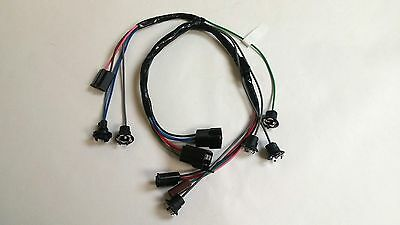 1964 1966 chevy pick up truck dash instrument cluster wiring 1962 1963 chevy pick up truck dash instrument cluster wiring harness gauges