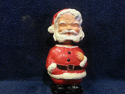 1960's VINTAGE BOBBLE HEAD SANTA CLAUSE made in Japan