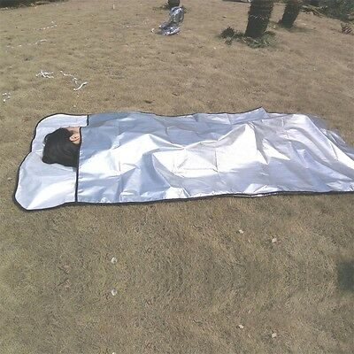 New Emergency Blanket Survival Rescue Insulation Curtain Outdoor Life-saving SW