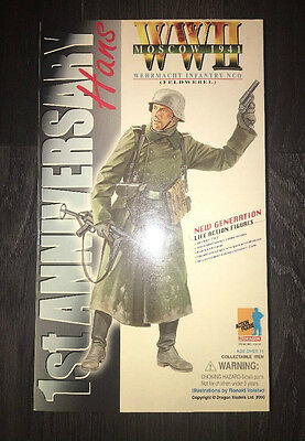 "Dragon Did German Wehrmacht Infantry Nco 12"" 1/6 Action Figure Bbi Dam Hot Toys"