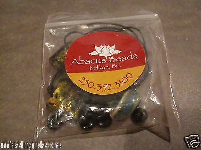 Abacus Beads Nelson, B.C. Canada Jewelry Necklace Kit - Glass/Stones