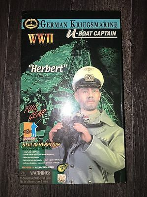 Dragon Did German Navy U-Boat Captain 1/6 Action Figure Very Dam Hot Toys Bbi