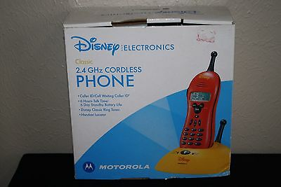 New in Box Disney Electronics 2.4 GHz Cordless Phone Mickey Mouse