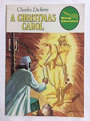 Charles Dickens, A Christmas Carol (King Classics #9) 1977 Barcelona Spain
