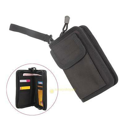 Outdoor Tactical Military Wallet Card Key Phone Pouch Holder Hand Bag Waterproof