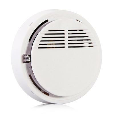 433MHZ Wireless Smoke Sensor Detector Alarm System with Battery 9V Home Security