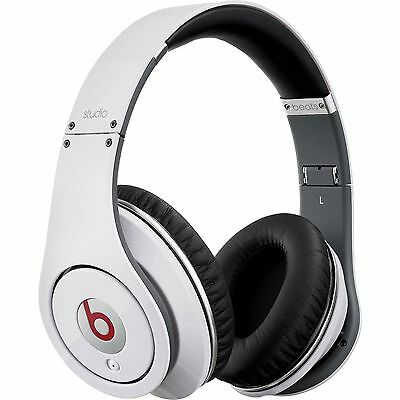 Beats By Dr Dre Studio 1.0 Over-Ear Wired Headphone White