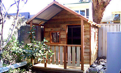 New timber cubby house