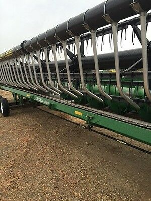 2008 John Deere 635F Headers