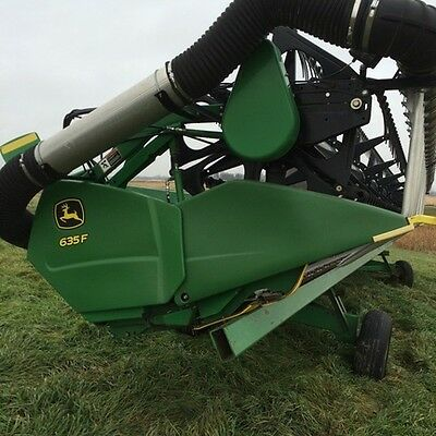 2006 John Deere 635F Headers