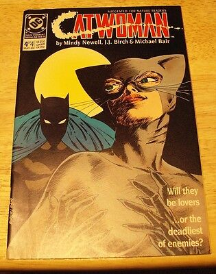 Catwoman (DC-1989) #4 Mini-Series - Mature Readers  - Batman Appr.