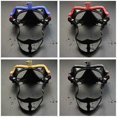 Underwater Camera Plain Diving Mask Scuba Snorkel Swimming Goggles for GoPro WS