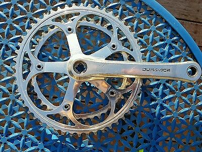 Shimano Dura Ace 7400 Crank and chainrings 170mm