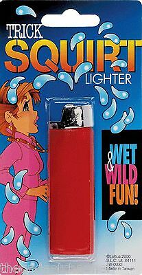Fake Squirt Cigarette Lighter Funny Joke Boys Toy Kids Childrens Christmas Gift