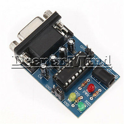 Atmega16 RS232 To TTL Converter Module COM Serial Board MAX232CPE Transfer Chip