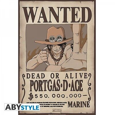 "One Piece Poster ""Wanted Ace"" (52x38cm)"