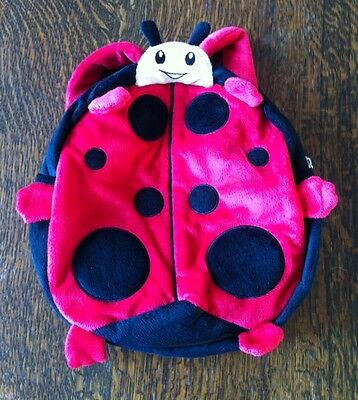 Ladybird toddler soft backpack or cute baby nappy bag
