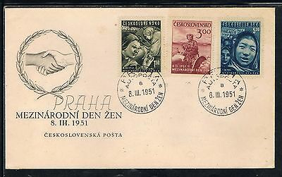 Czechoslovakia cover stamp 1951  Collection