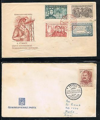 Czechoslovakia cover stamp Collection