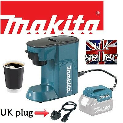 Makita 18V Espresso Machine Cordless & Mains Coffee Maker DCM500Z **NEW BOXED**!