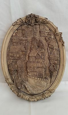 Rare Discworld Scenes of Old Ankh Morpok Plaque Limited Edition