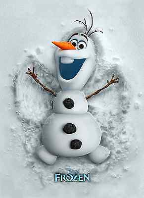 Unofficial FROZEN Olaf Disney (6) *Glossy* A4 print Poster - Elsa Dory Peppa