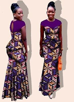African Print top and a Skirt set      Size:   4XL