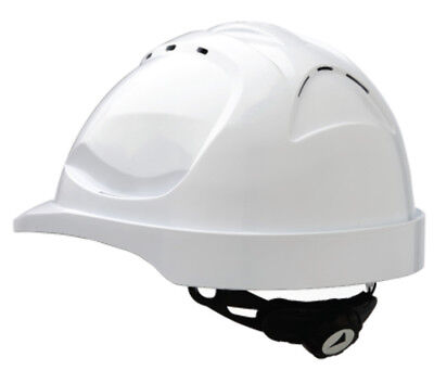 ProChoice HHV9R-W White Vented Hardhat With Rachet