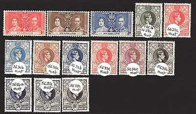 Swaziland Kgvi 1938-54 Cv £125.00 ++ Part Set With High Values M/mint